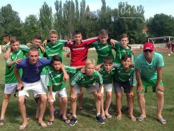 Футбольна команда з Баранівки посіла 4 місце на всеукраїнських змаганнях, фото-1