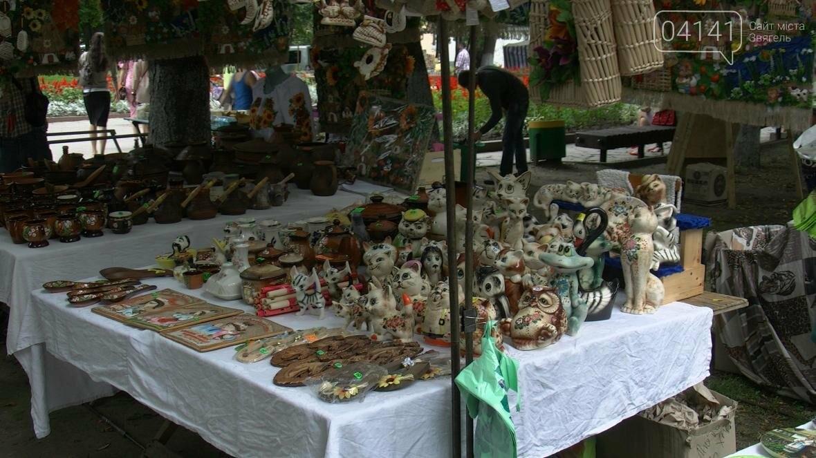 Святковий ярмарок народних умільців України у Новограді-Волинському, фото-1
