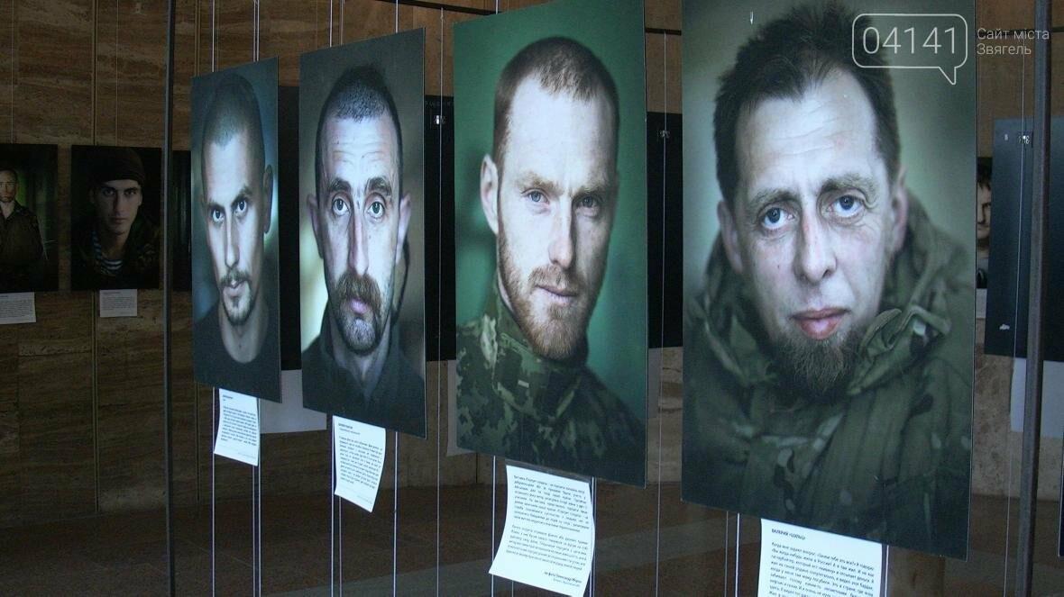 """Їх погляд пронизує до кісток: У Новограді-Волинському проходить  виставка """"Портрет солдата"""" (ФОТО, ВІДЕО), фото-2"""