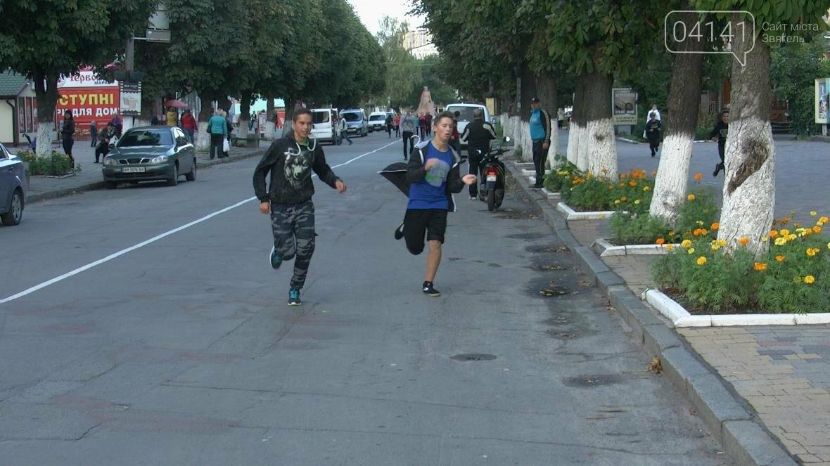 У Новограді-Волинському відбувся пробіг до Дня фізкультури і спорту (ФОТО, ВІДЕО), фото-2
