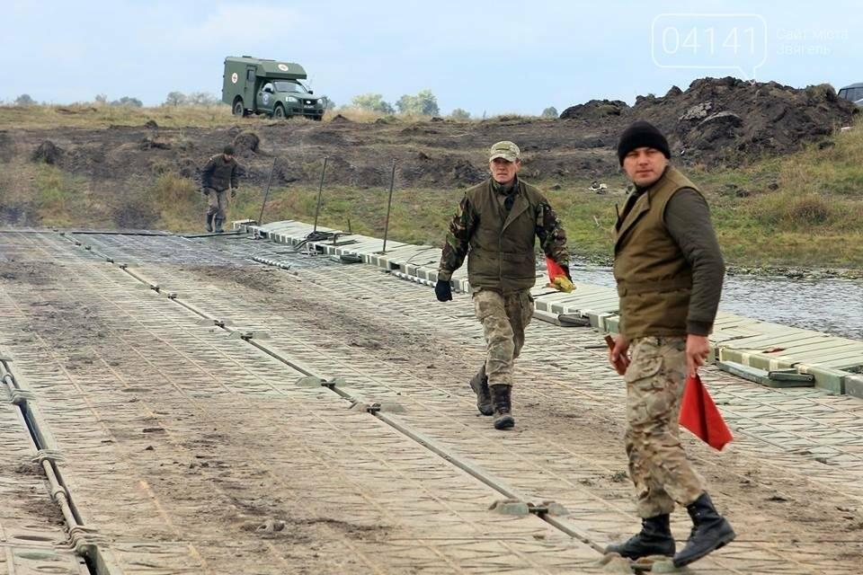 Військові інженери з Новограда-Волинського тренувалися наводити понтону переправу, фото-2