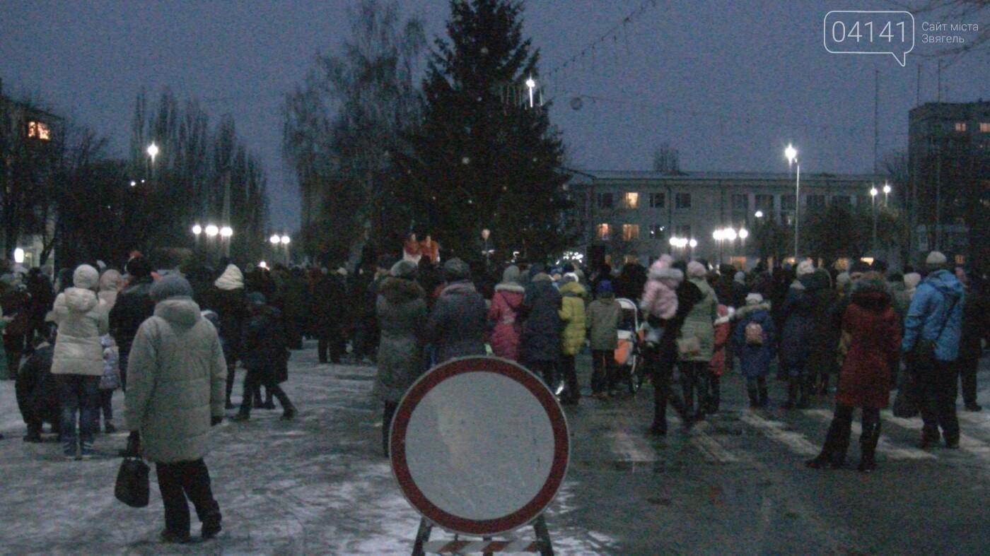 У Новограді-Волинському відкрили головну новорічну ялинку (ФОТО, ВІДЕО), фото-1