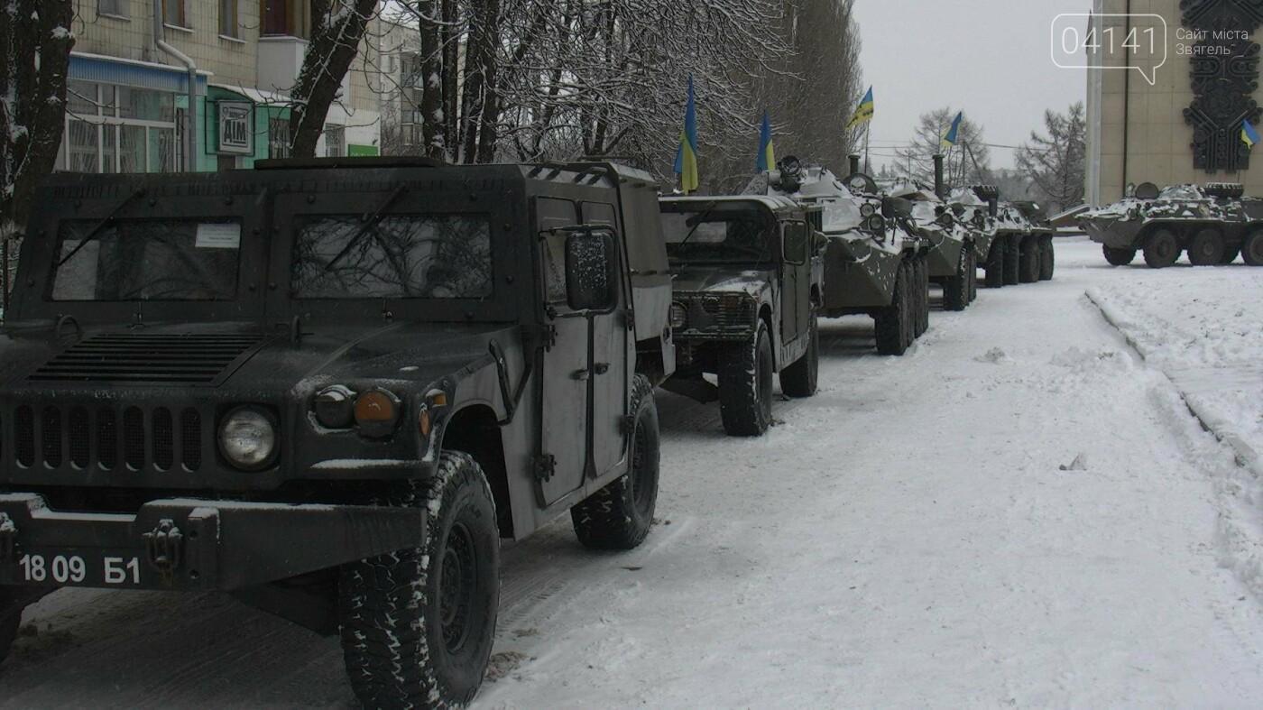 У Новограді-Волинському відбувся мітинг з нагоди повернення 54-го окремого розвідувального батальйону (ФОТО), фото-5