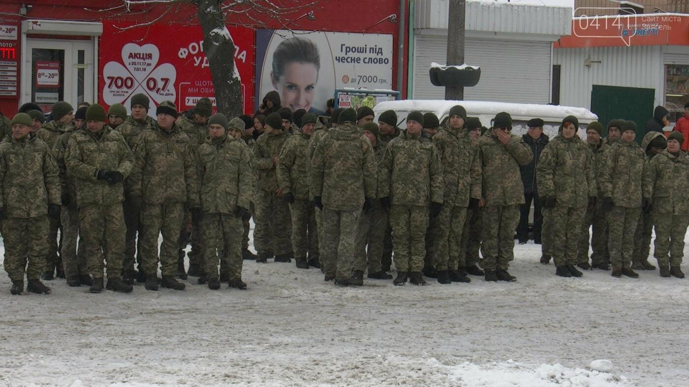 У Новограді-Волинському відбувся мітинг з нагоди повернення 54-го окремого розвідувального батальйону (ФОТО), фото-1