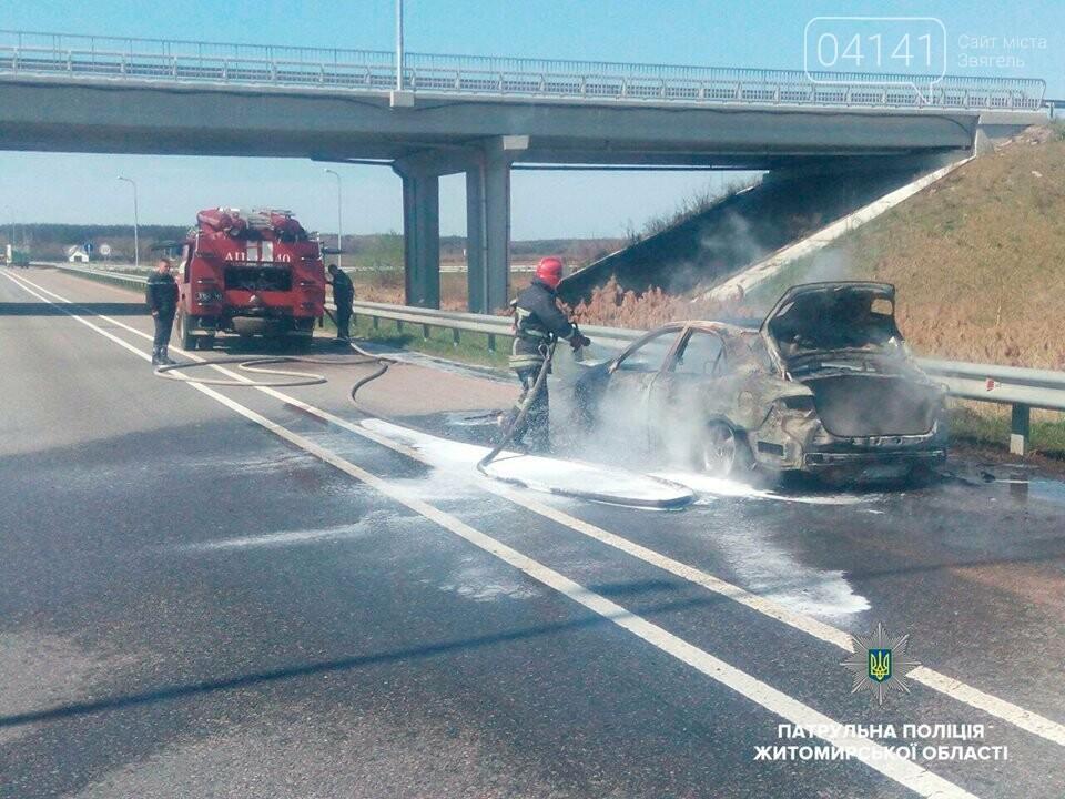 На автодорозі «Київ - Чоп» загорівся автомобіль, фото-3