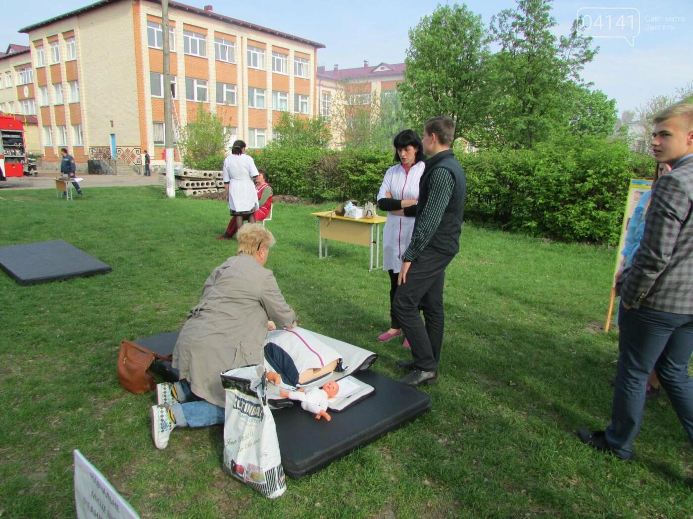 У Новограді-Волинському рятувальники провели для школярів громадську акцію «Запобігти. Врятувати. Допомогти.» (ФОТО), фото-9
