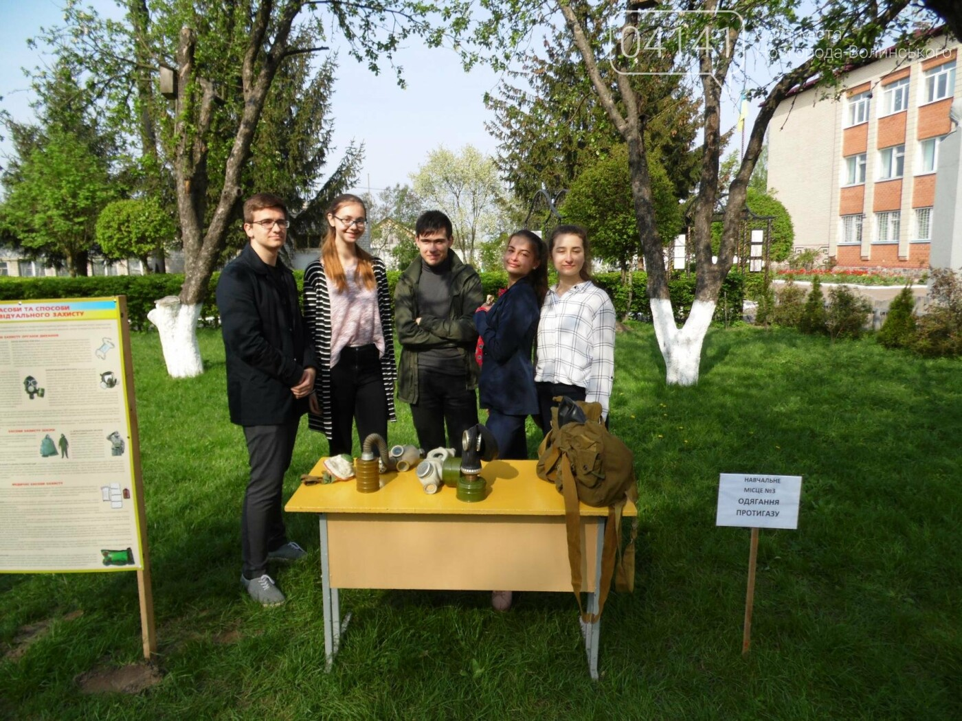 У Новограді-Волинському рятувальники провели для школярів громадську акцію «Запобігти. Врятувати. Допомогти.» (ФОТО), фото-17