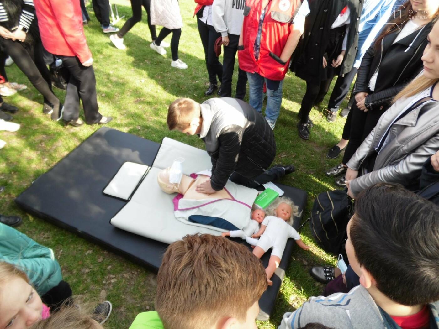 У Новограді-Волинському рятувальники провели для школярів громадську акцію «Запобігти. Врятувати. Допомогти.» (ФОТО), фото-16