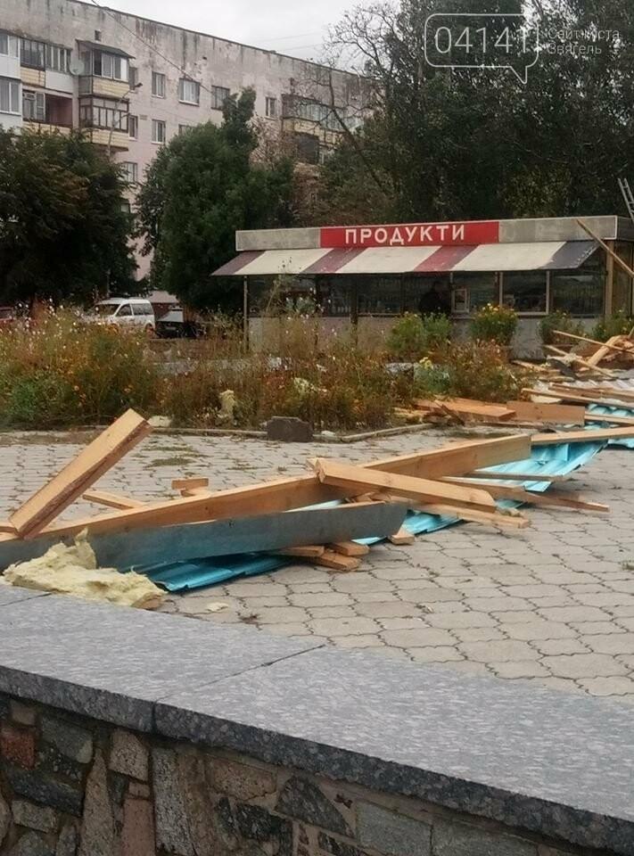 У Новограді-Волинському вітер наробив лиха (ФОТО, ВІДЕО), фото-6