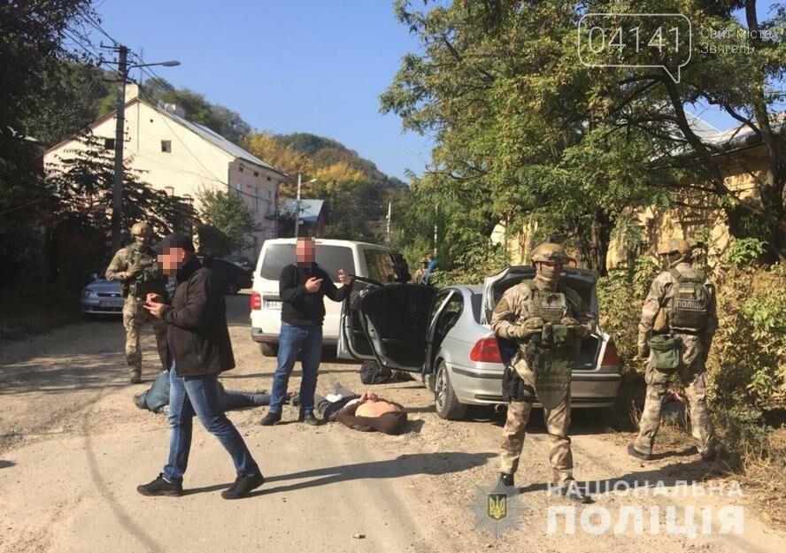 Житомирські поліцейські затримали групу валютних розбійників , фото-1
