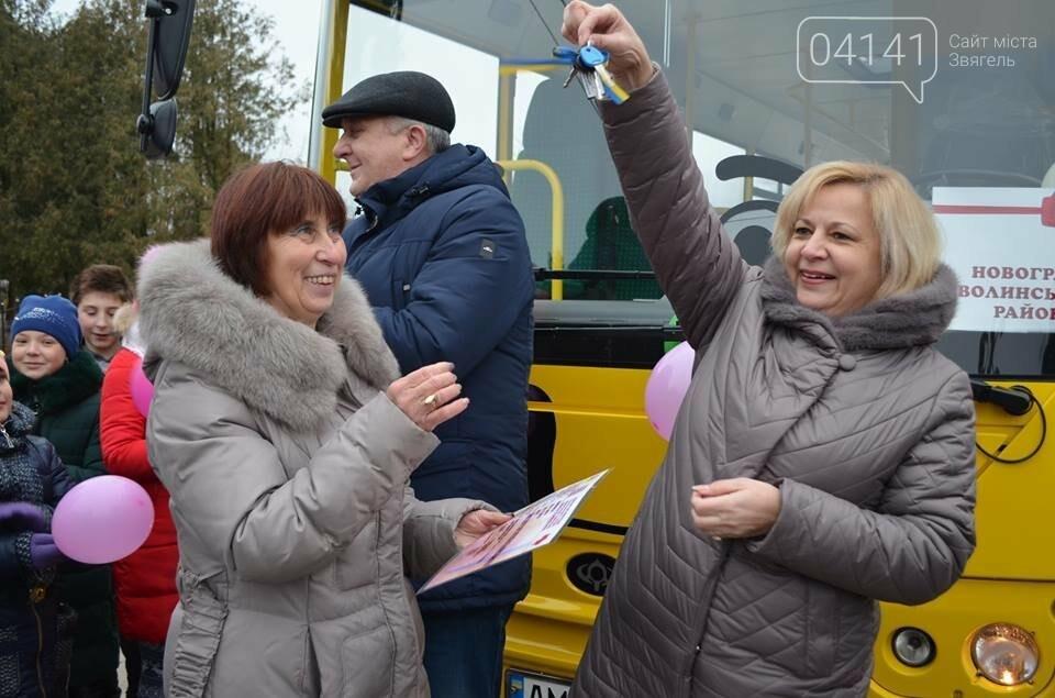 Новий автобус для школярів отримала одна з громад Новоград-Волинського району (ФОТО), фото-4