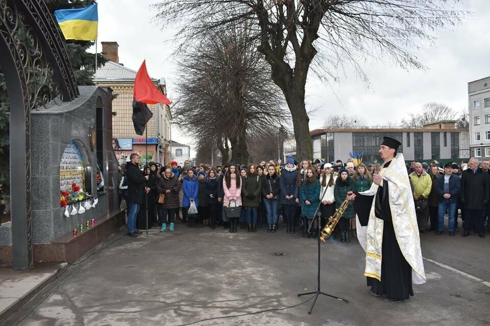 У Новограді-Волинському вшанували подвиг Героїв Небесної Сотні, фото-4