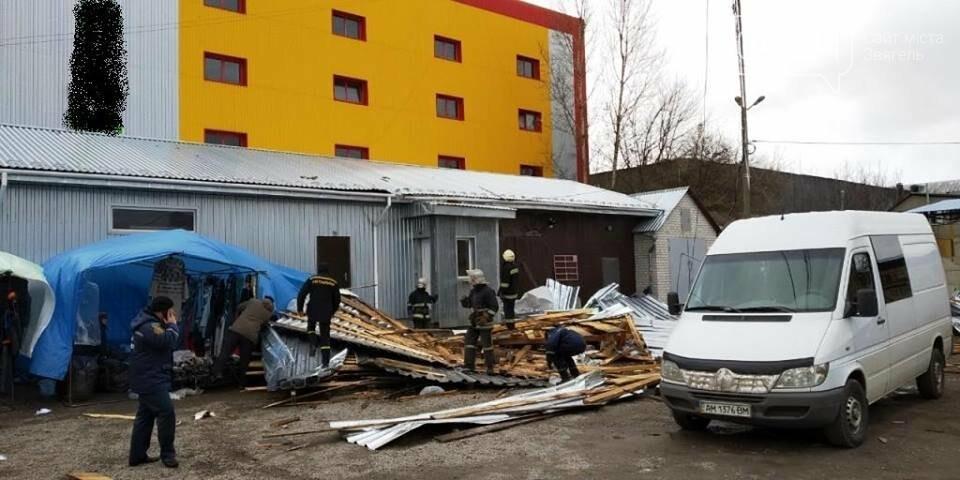 На Житомирщині зірвало покрівлю з будівлі: 1 людина загинула та ще 1 отримала травми, фото-1