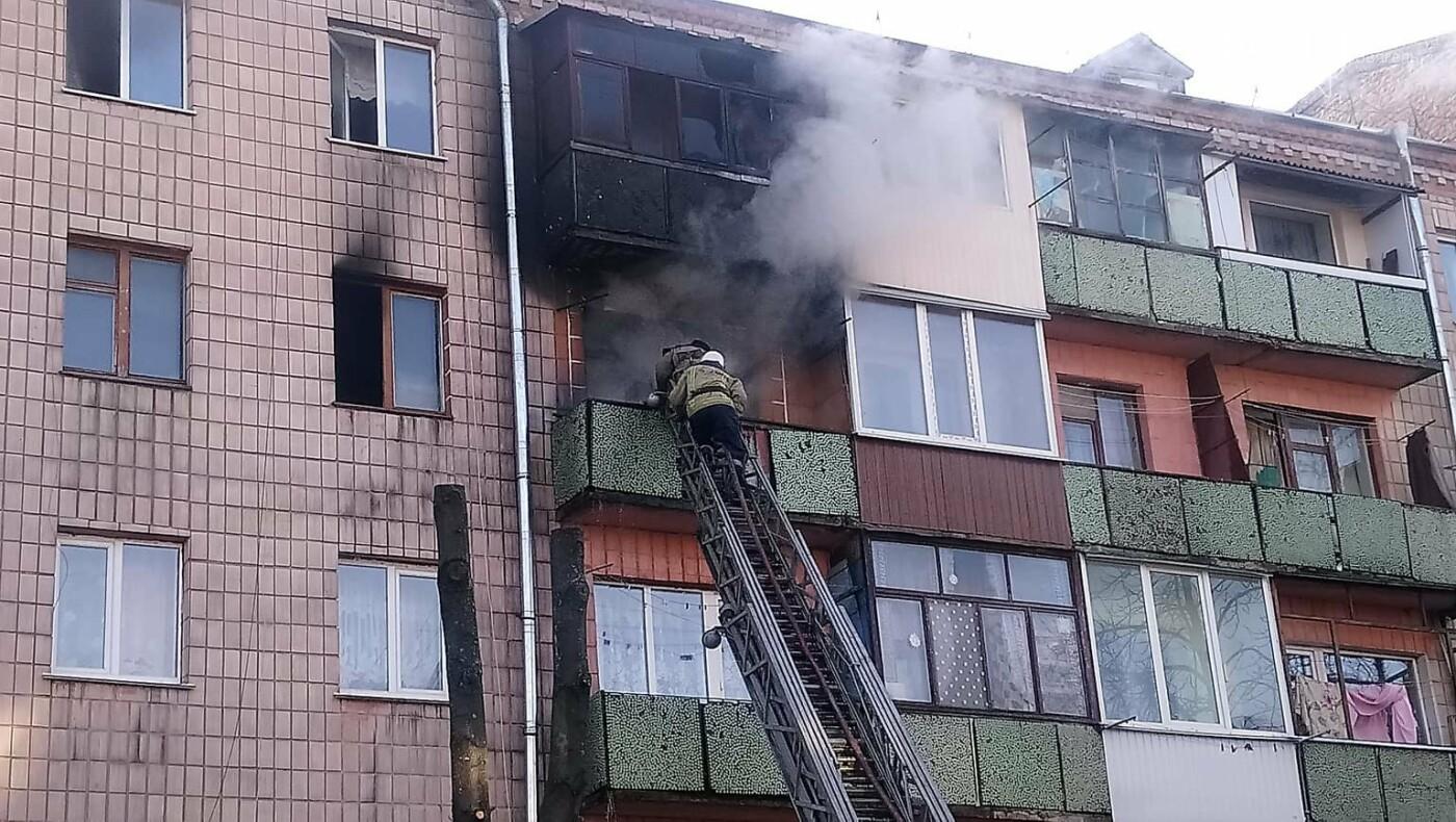 Як в центрі Новограда гасили пожежу в 5-ти поверховому будинку (ФОТО, ВІДЕО), фото-2