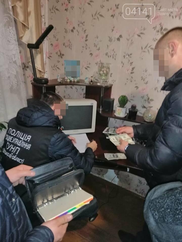 На Житомирщині затримали голову сільради на хабарі у 35 тисяч доларів США , фото-1