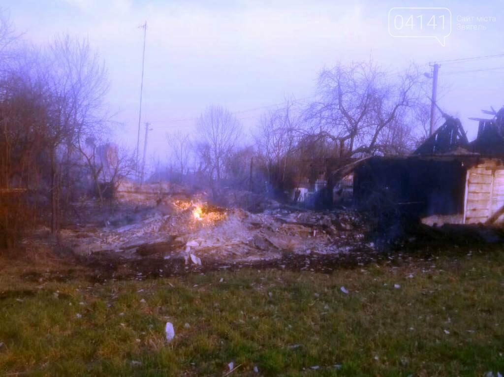 На Новоград-Волинщині чоловік спалюючи суху траву, підпалив сусідський дім та господарські будівлі, фото-1