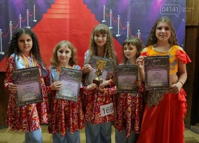 """Юні танцівниці з Новограда вибороли 36 нагород на """"Infinity Dance-2019"""", фото-1"""