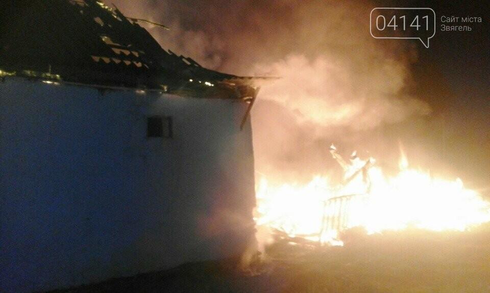 У Новоград-Волинському районі вогнеборці загасили пожежу в приватному домоволодінні, фото-1