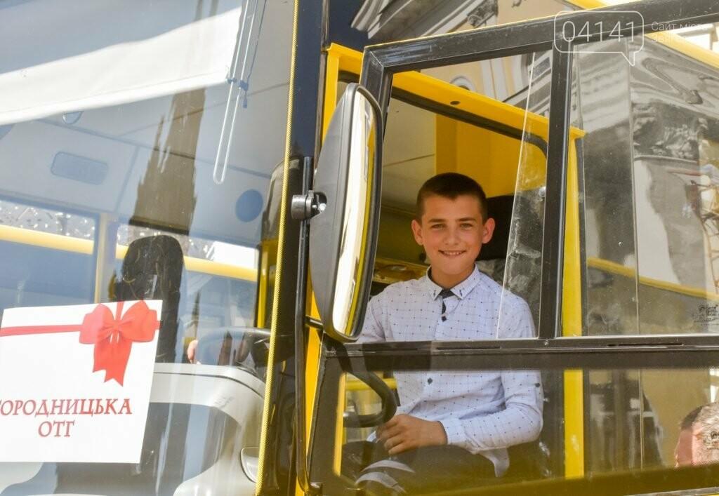 Нові шкільні автобуси отримали Піщівська та Городницька громади Новоград-Волинсьго району, фото-1