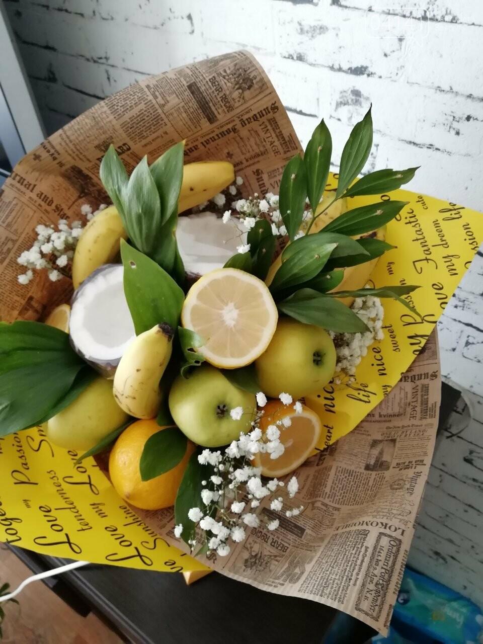 Знайомтеся, це Анна з Новограду - майстриня, яка створює неймовірні фруктові букети, фото-10