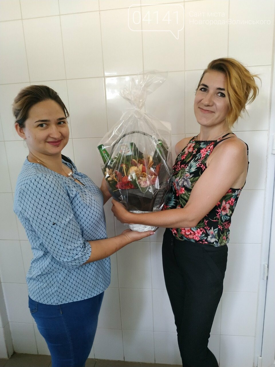Знайомтеся, це Анна з Новограду - майстриня, яка створює неймовірні фруктові букети, фото-2