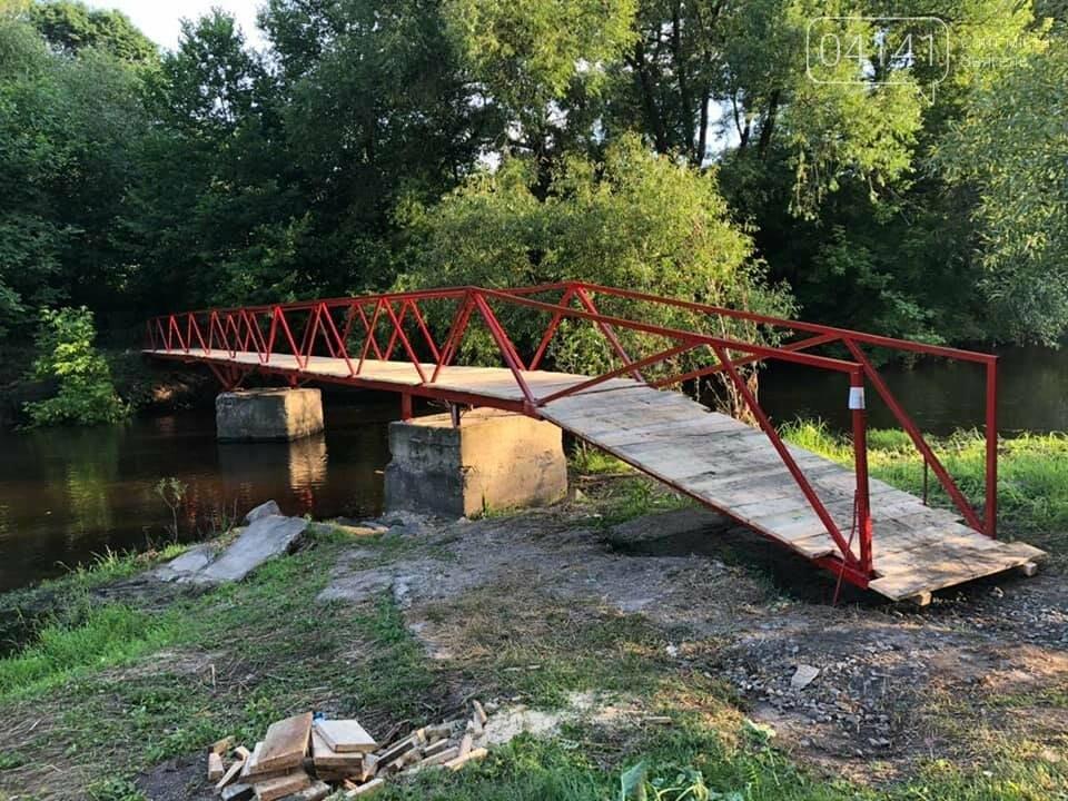 """Це взагалі """"прелєсть"""": Новоград-волинці про відновлений міст через річку Смолка, фото-11"""
