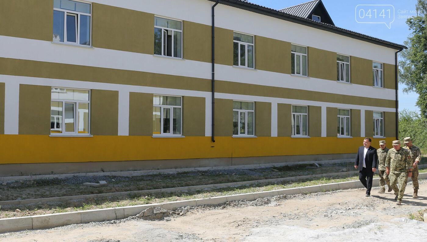 Міністр оборони перевірив готовність новозбудованих казарм для військових 30-ї бригади (ФОТО), фото-1
