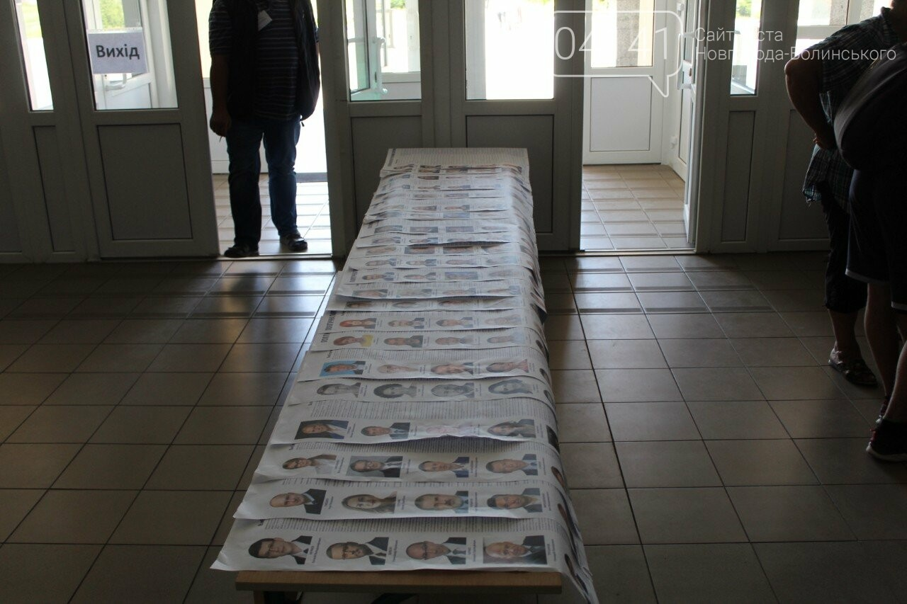 Як новоград-волинці голосують на виборчих дільницях, фото-2