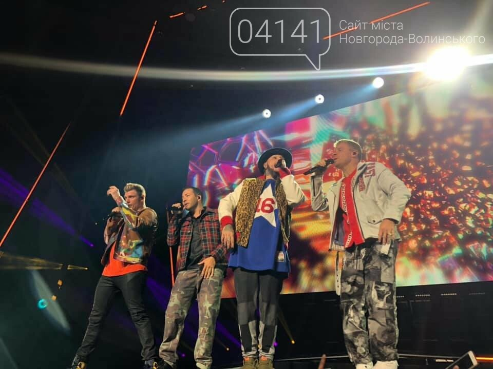 Один із кращих днів життя: Звягельчанка побувала на концерті Backstreet Boys (ВІДЕО), фото-1