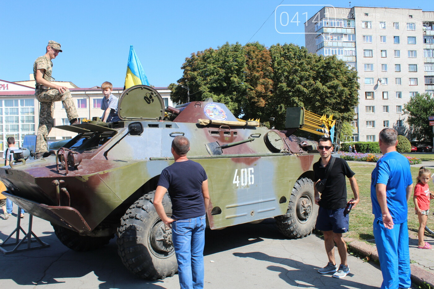У Новограді-Волинському проходить виставка військової техніки (ФОТО, ВІДЕО), фото-2