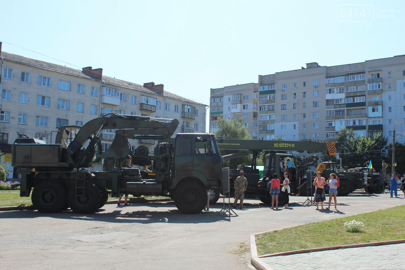 У Новограді-Волинському проходить виставка військової техніки (ФОТО, ВІДЕО), фото-8