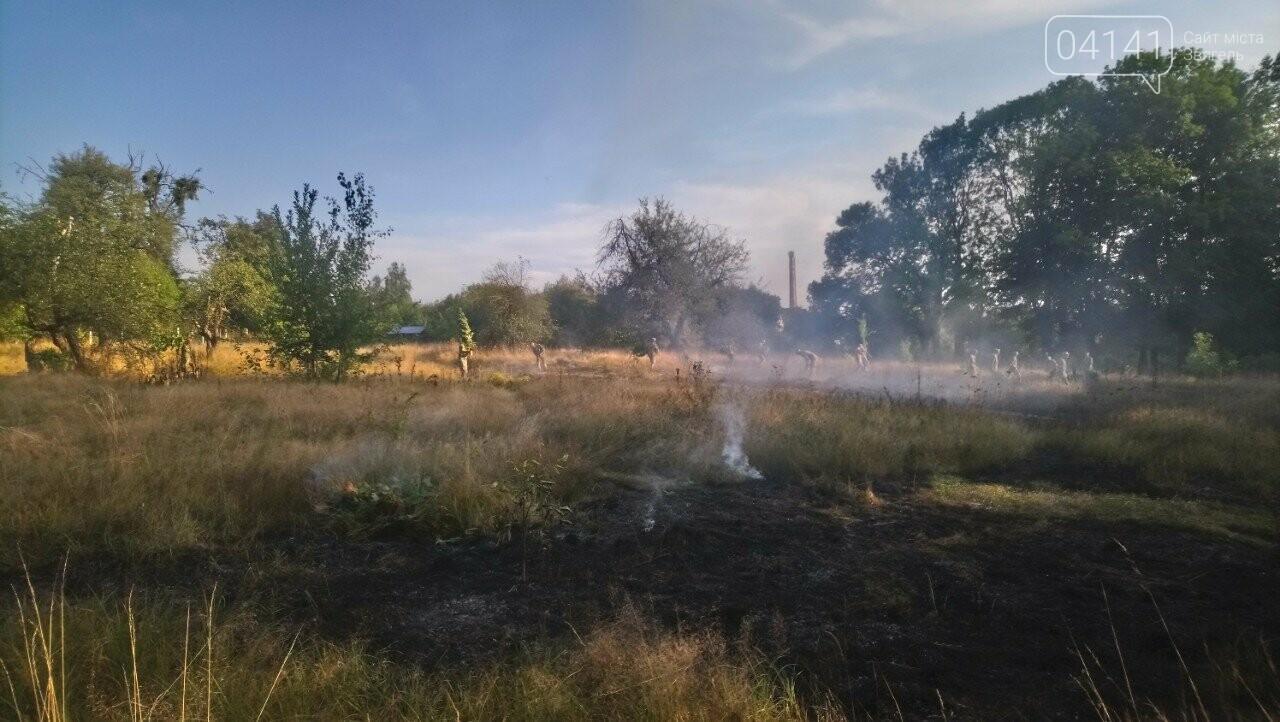 Як Вам дихається новоград-волинці?: На Болгарах масово палять траву (ФОТО, ВІДЕО), фото-1