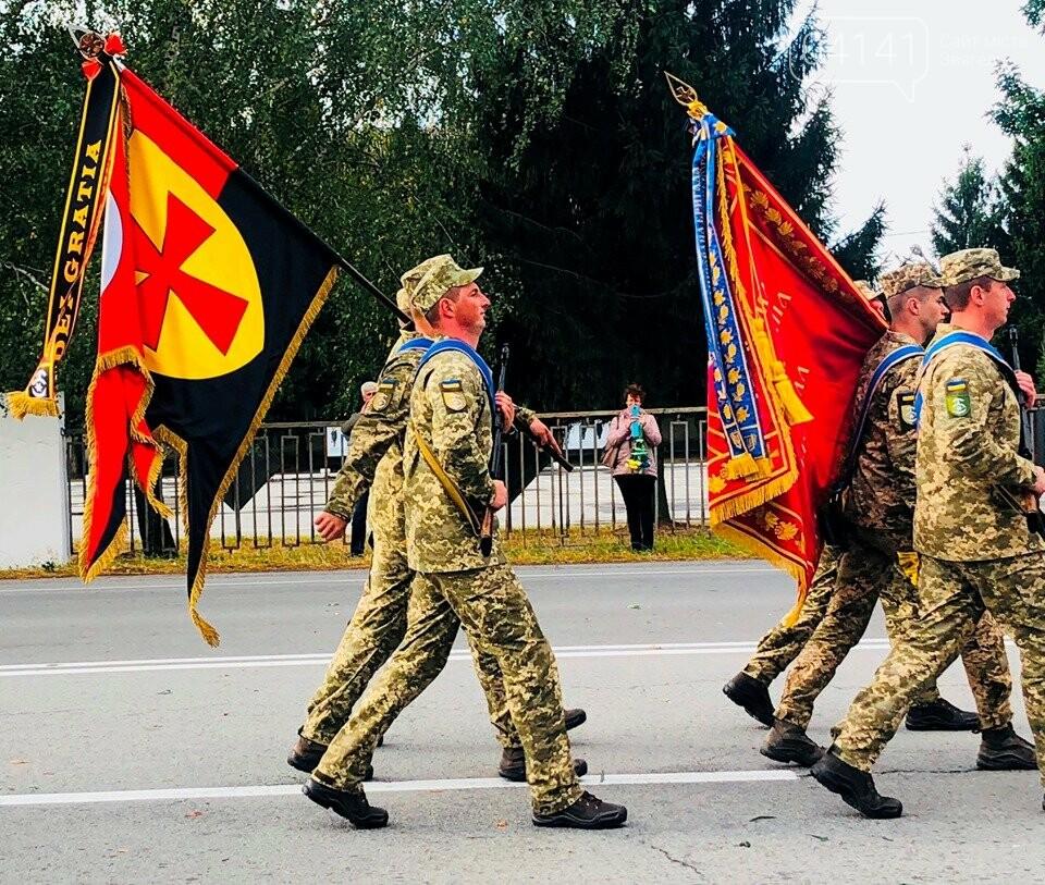 У Новограді відбулися урочистості з нагоди прибуття бійців 30-ї бригади додому (ФОТО), фото-1