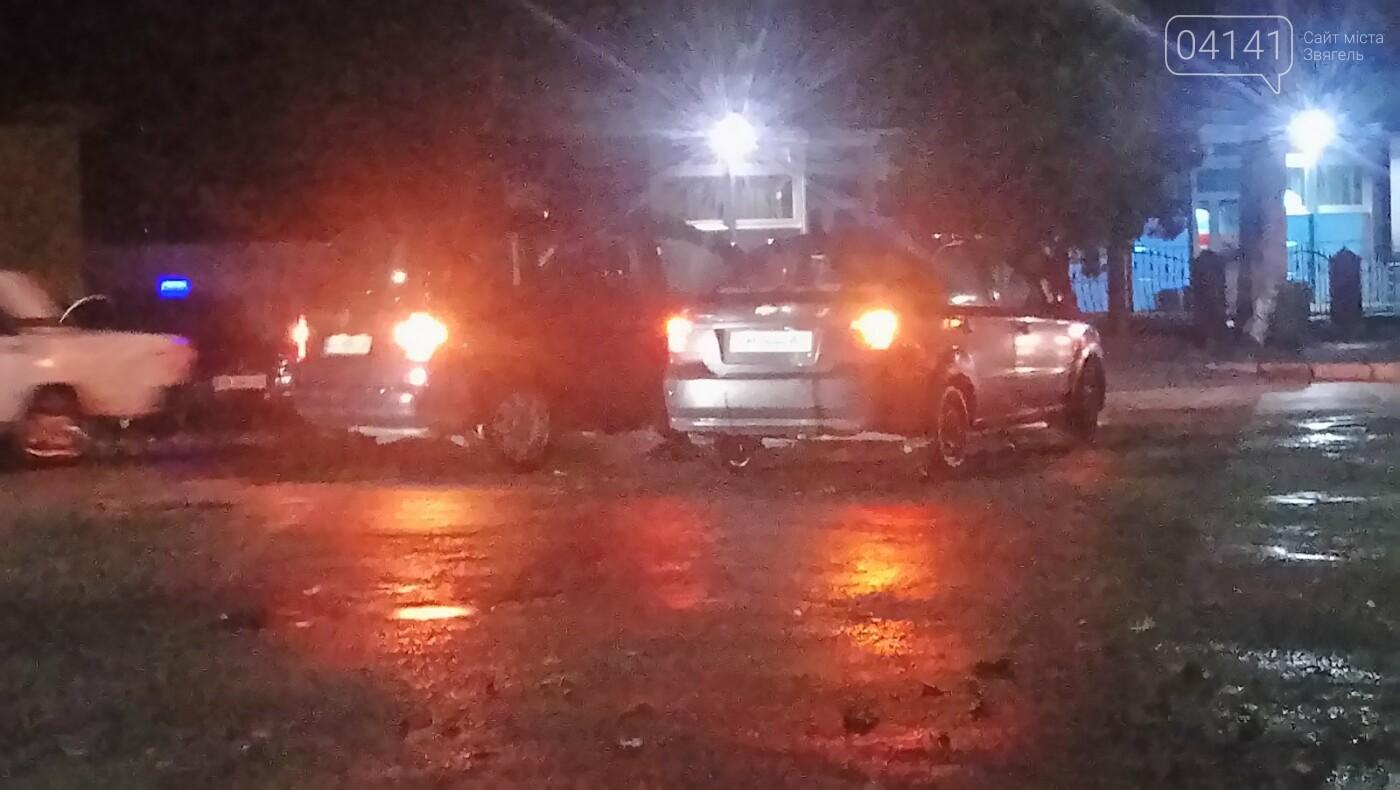 У Новограді біля автовокзала сталася ДТП (ФОТО, ВІДЕО), фото-1