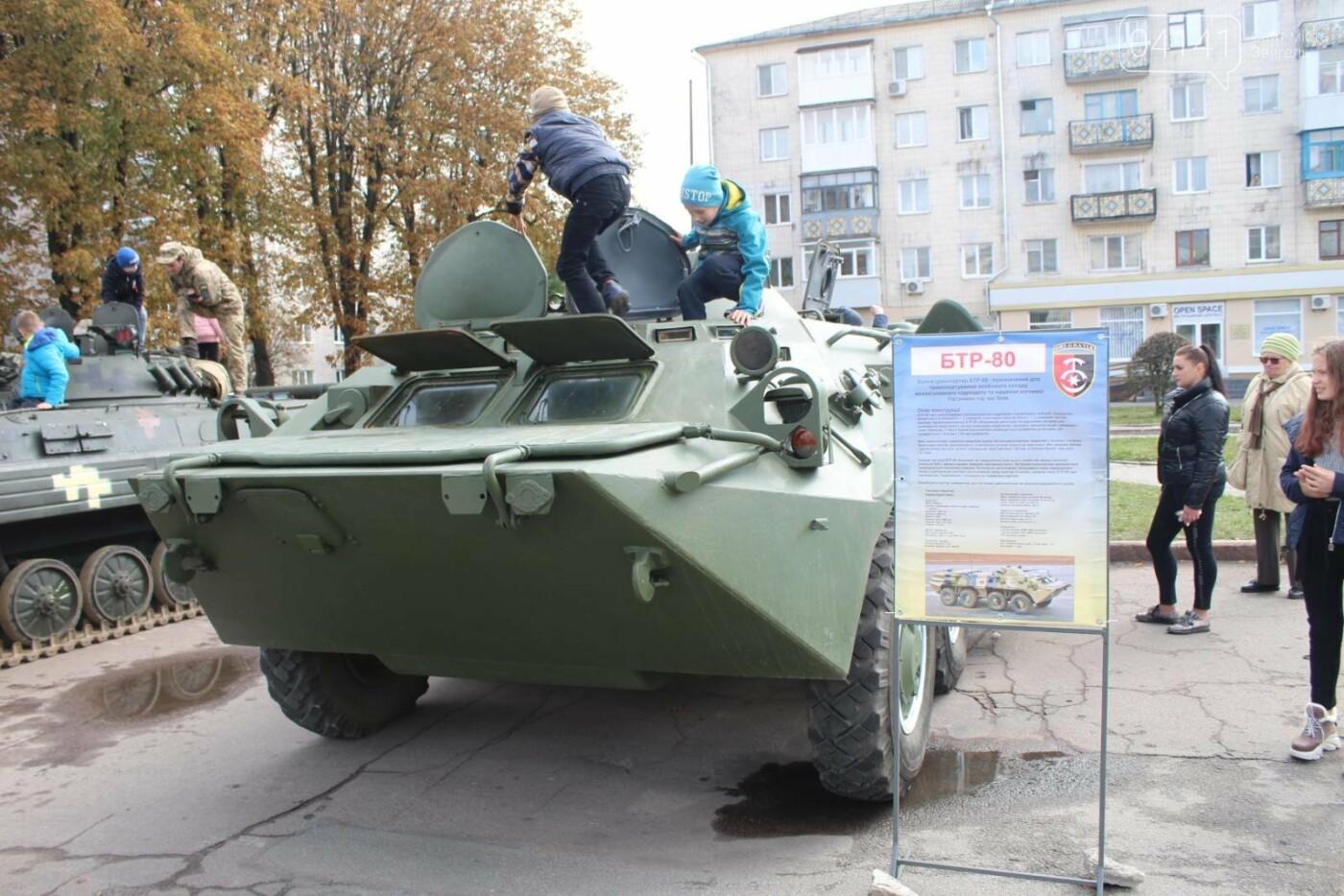 У Новограді проходить виставка військової техніки (ФОТОРЕПОРТАЖ), фото-5
