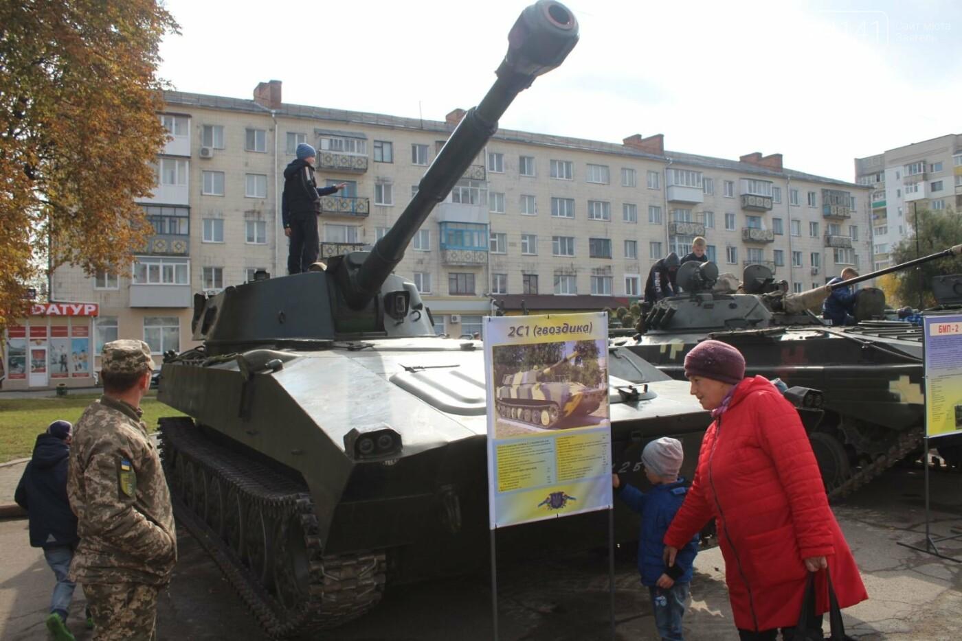 У Новограді проходить виставка військової техніки (ФОТОРЕПОРТАЖ), фото-10