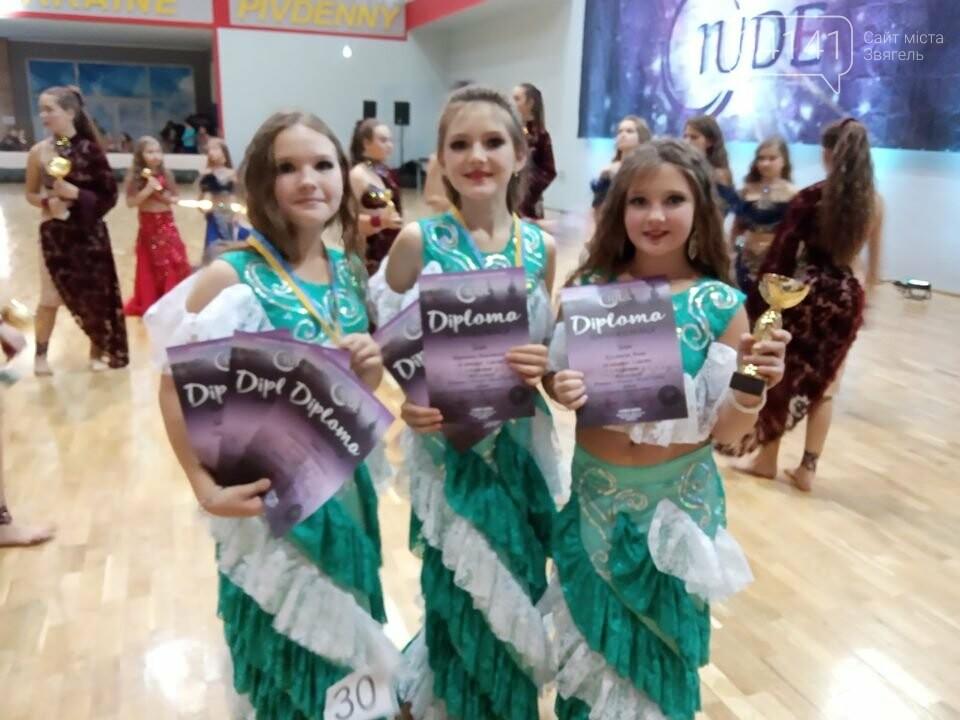 Юні  звягельчанки успішно виступили на чемпіонаті зі східного танцю та привезли додому нагороди, фото-2