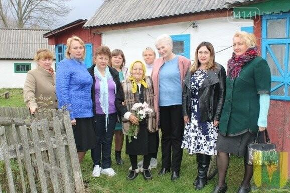 Найстарша жителька Новоград-Волинського району відсвяткувала свій 102 рік народження, фото-1
