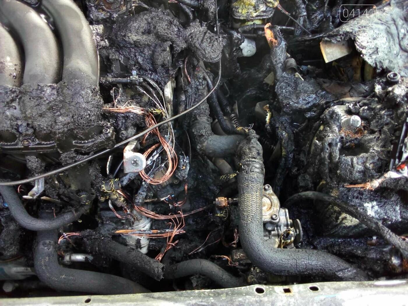 У Новограді під час руху загорівся автомобіль: Фото наслідків пожежі, фото-3