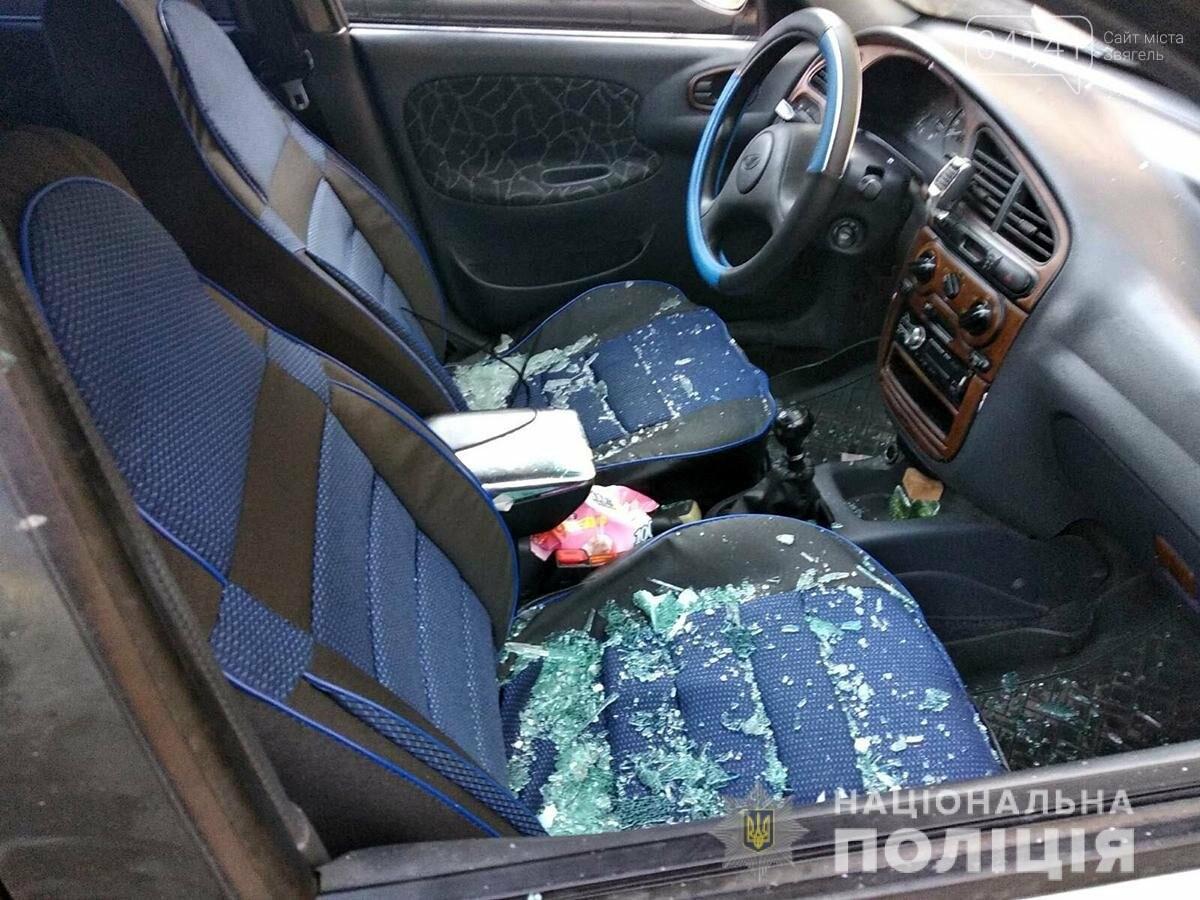 У Новограді хуліган вночі розтрощив дві автівки (ФОТО), фото-2