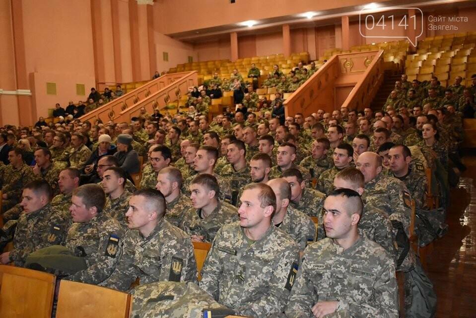 У Новограді привітали бійців 54-го розвідбату з нагоди повернення із зони ООС, фото-1