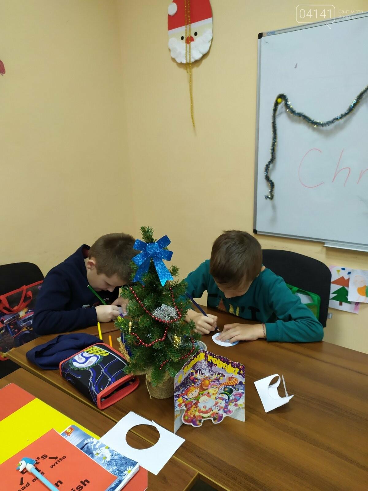Щасливого Різдва: Новоград-волинські діти пізнавали традицію англомовних країн, фото-9