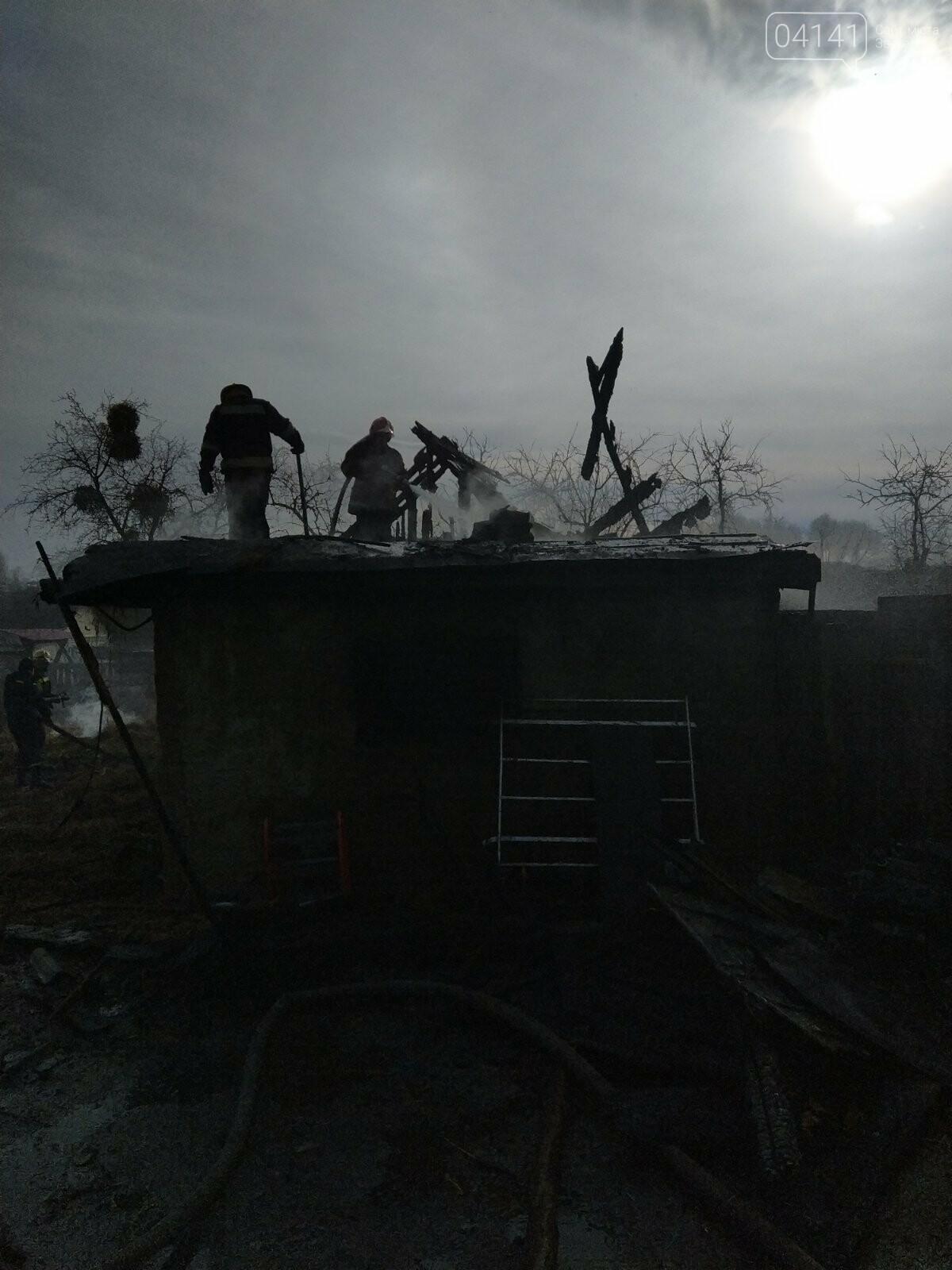На Новоград-Волинщині сталося дві пожежі (ФОТО З МІСЦЯ ПОДІЇ), фото-1