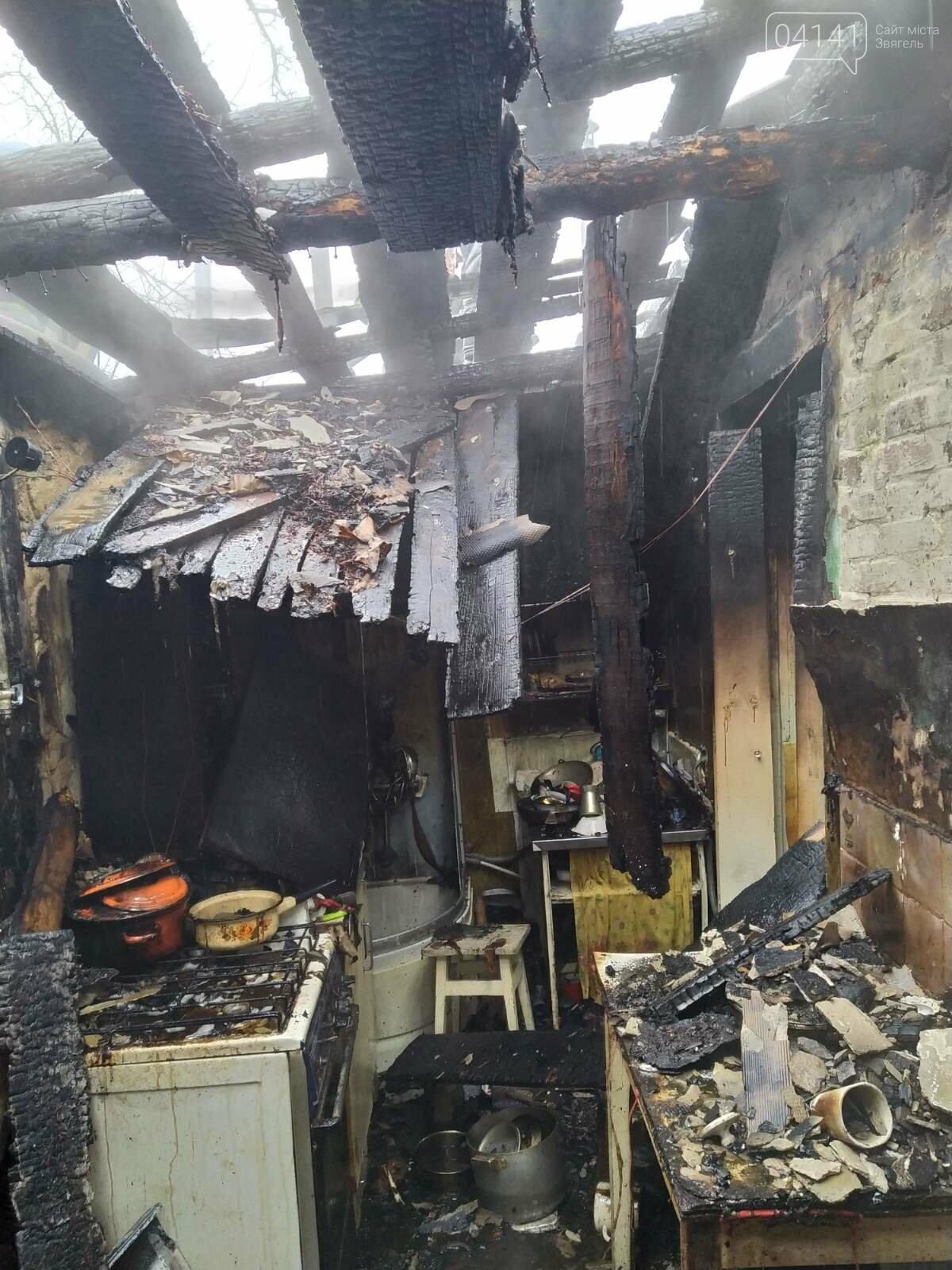 У Новограді-Волинському сталася пожежа в житловому будинку , фото-3