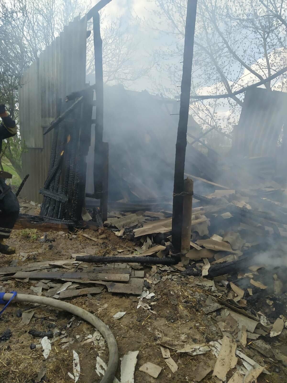 У Новоград-Волинському районі сталася пожежа (ФОТО), фото-3