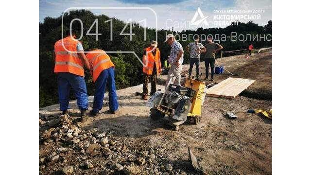 Як просувається ремонт мосту через річку Случ у Чижівці, фото-1