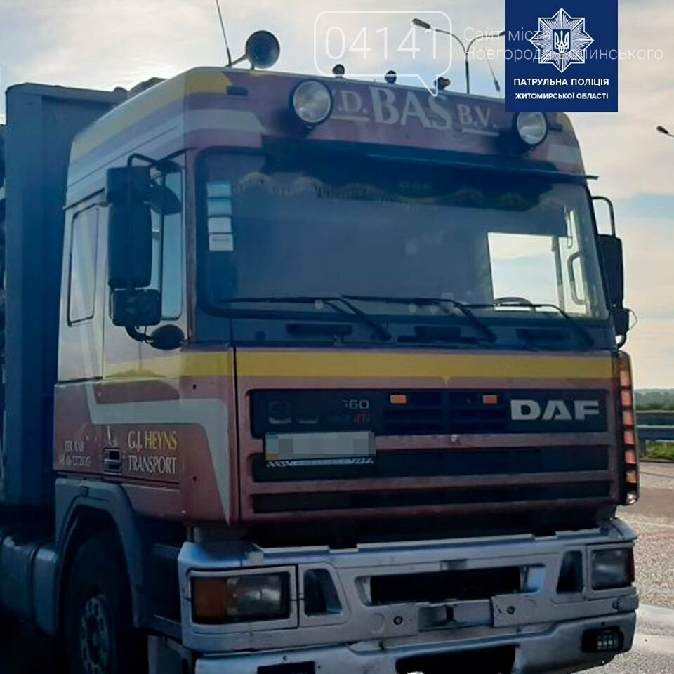 На автодорозі Київ-Чоп виявили фуру з сосною без документів, фото-1