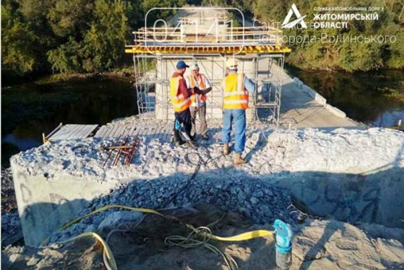 Як просувається будівництво мосту через річку Случ у Чижівці на Новоград-Волинщині, фото-1