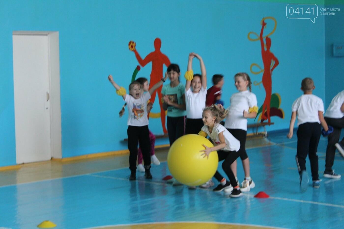 Веселі старти: Як у ліцеї №1 у Новограді проходять уроки фізкультури (ФОТО, ВІДЕО), фото-7