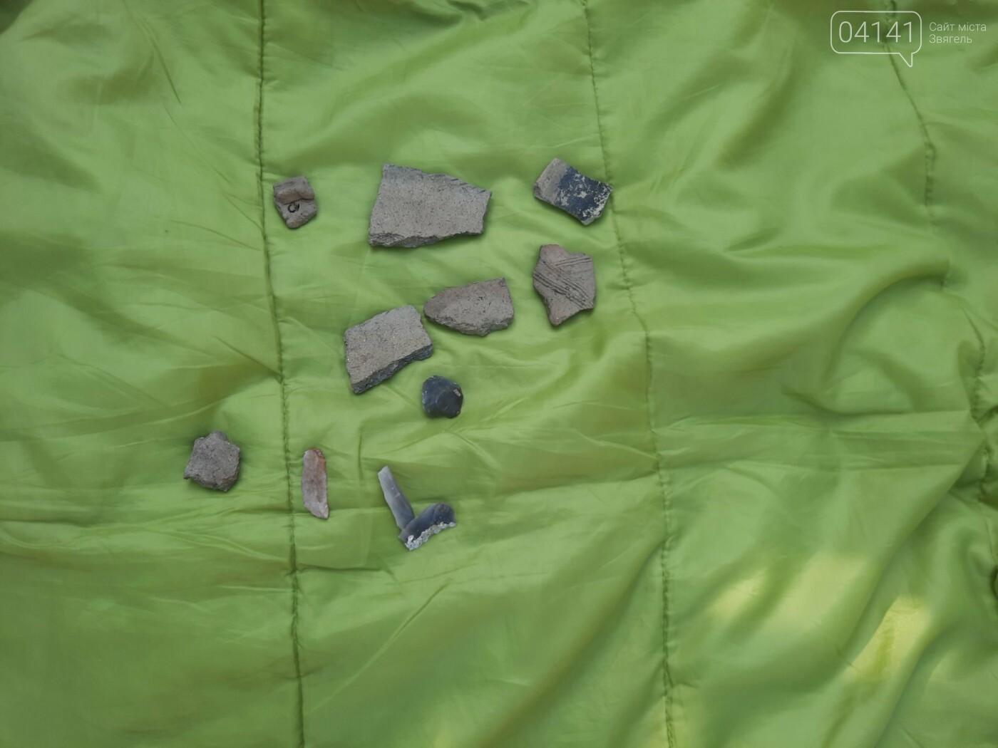 Залишки давнього поселення бронзової доби виявили на Новоград-Волинщині , фото-8